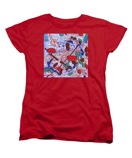 Conversation With Grace Women's T-Shirt (Standard Cut) by Phil Strang