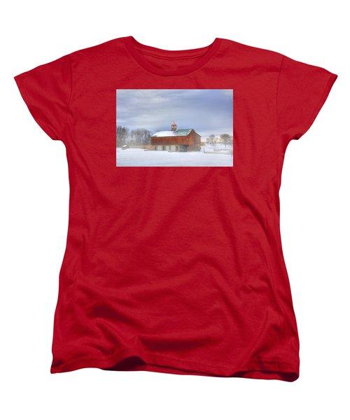 Women's T-Shirt (Standard Cut) featuring the digital art Copper Cupola by Sharon Batdorf
