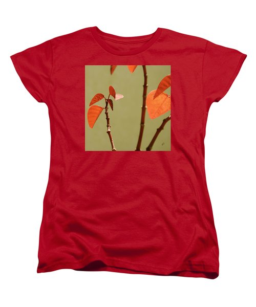 Women's T-Shirt (Standard Cut) featuring the photograph Copper Plant 2 by Ben and Raisa Gertsberg