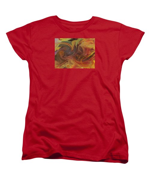 Coral Sea Women's T-Shirt (Standard Cut) by David Klaboe
