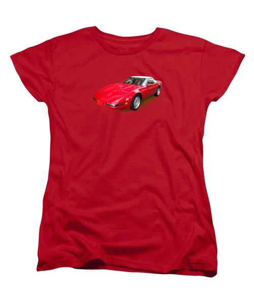 Corvette Women's T-Shirt (Standard Cut) by Eric Schiabor