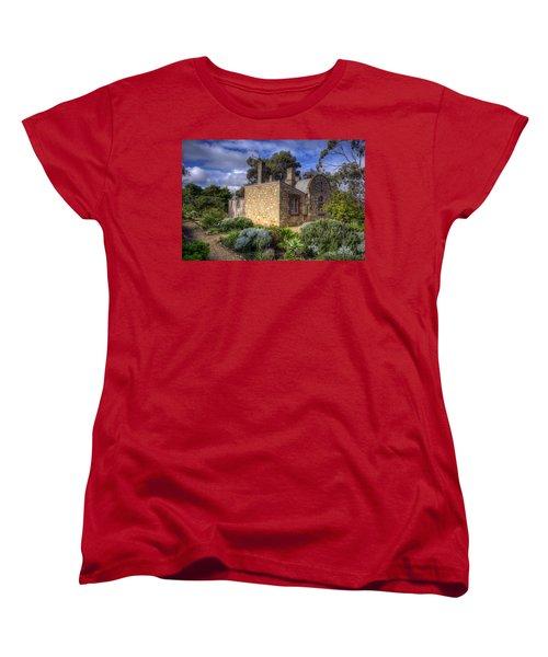 Cottage Women's T-Shirt (Standard Cut) by Wayne Sherriff