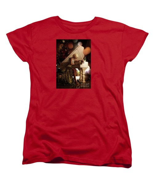 Women's T-Shirt (Standard Cut) featuring the digital art Counting Blessings by Shanina Conway