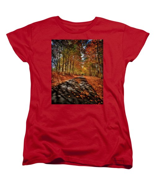 Country Road Women's T-Shirt (Standard Cut) by Mark Allen