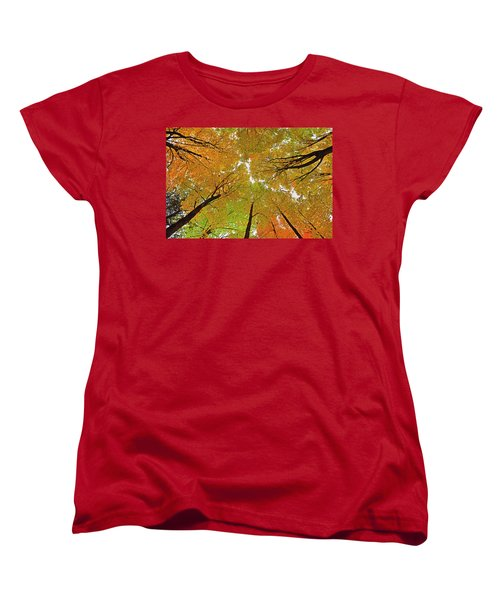 Women's T-Shirt (Standard Cut) featuring the photograph Cover Up by Tony Beck