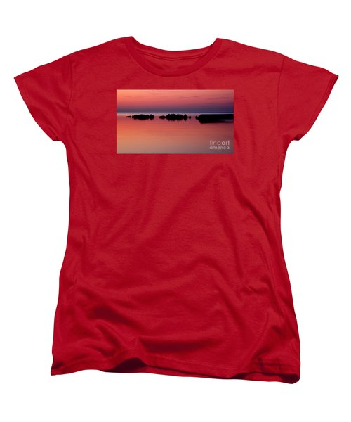 Cracking Dawn Women's T-Shirt (Standard Cut) by Joe  Ng