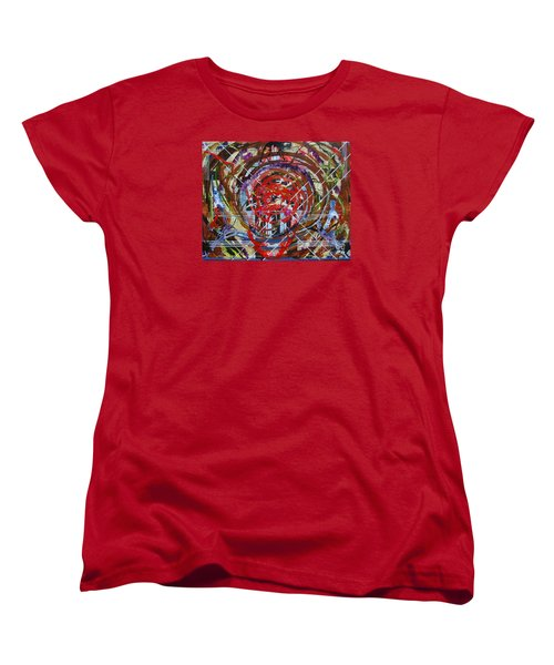 Crazy Quilt Star Dream Women's T-Shirt (Standard Cut) by Stuart Engel