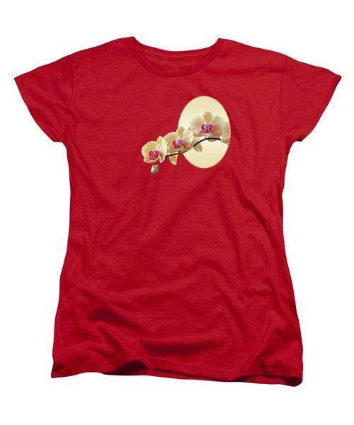 Cream Delight - Square Women's T-Shirt (Standard Cut) by Gill Billington