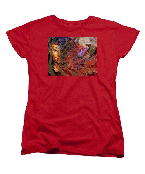 Crimson Requiem Women's T-Shirt (Standard Cut) by John Robert Beck