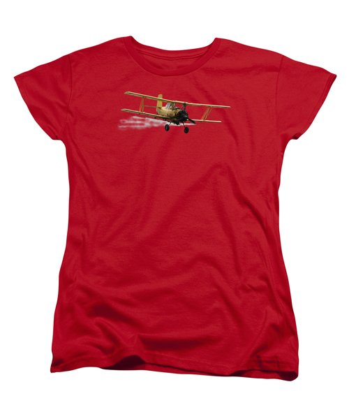 Crop Duster T Women's T-Shirt (Standard Cut) by David Andersen