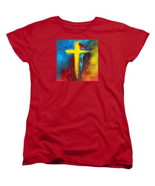 Cross 2 Women's T-Shirt (Standard Cut) by Kume Bryant
