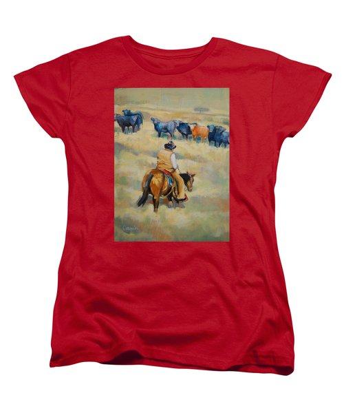 Crossing Women's T-Shirt (Standard Cut) by Jean Cormier