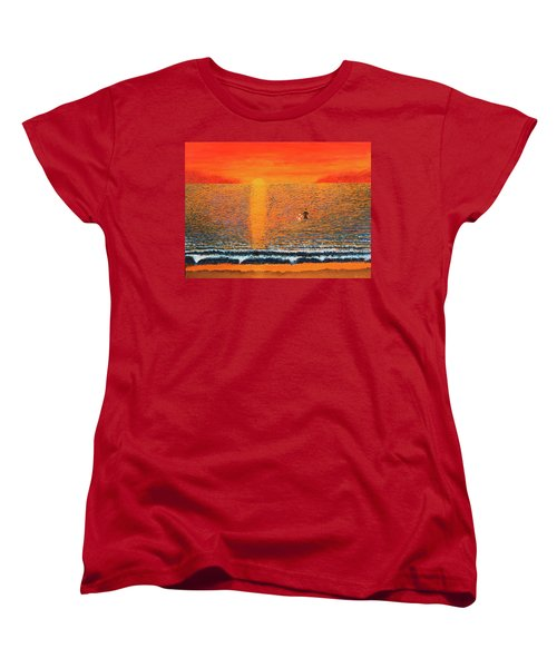 Crossing Over Women's T-Shirt (Standard Cut) by Thomas Blood