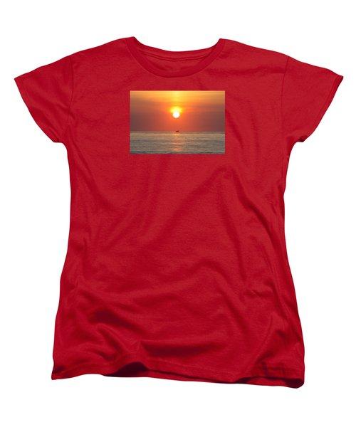 Women's T-Shirt (Standard Cut) featuring the photograph Cruising On The Sunshine by Robert Banach