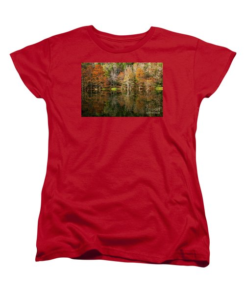 Women's T-Shirt (Standard Cut) featuring the photograph Crystal Clear by Iris Greenwell