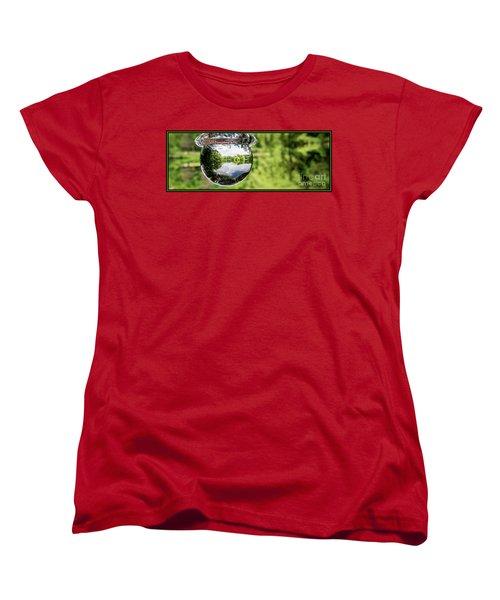 Crystalized Drop Women's T-Shirt (Standard Cut)