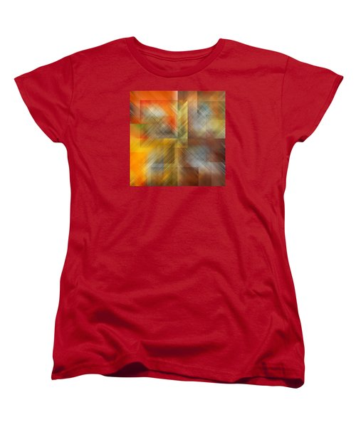 Women's T-Shirt (Standard Cut) featuring the photograph Cubic Space by Mark Greenberg