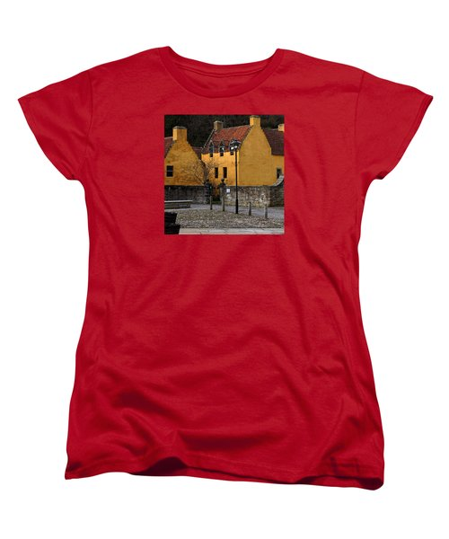 Women's T-Shirt (Standard Cut) featuring the photograph Culross by Jeremy Lavender Photography