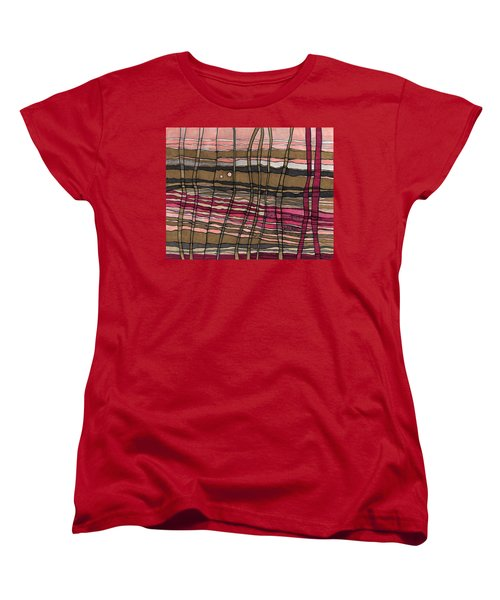 Stalks At Sunset Women's T-Shirt (Standard Cut) by Sandra Church