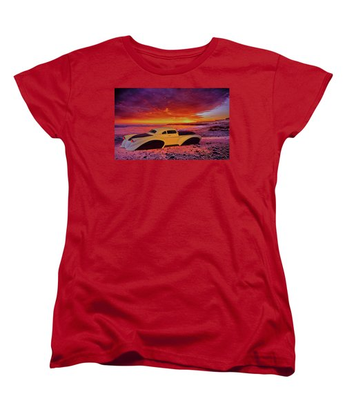 Custom Lead Sled Women's T-Shirt (Standard Cut) by Louis Ferreira