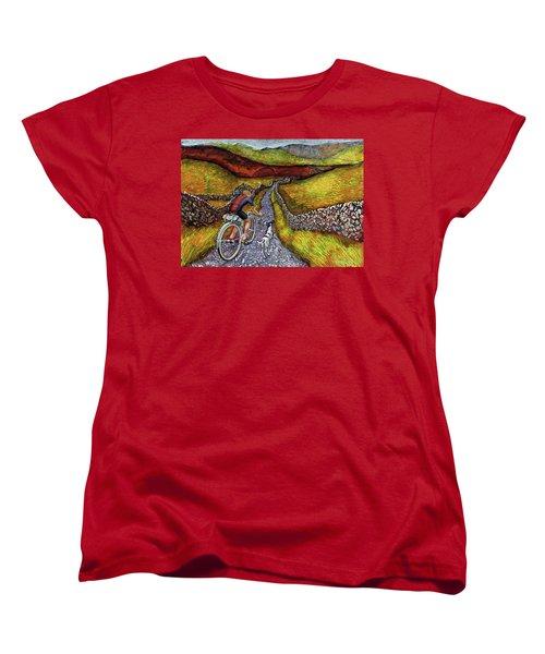 Lancashire Lanes II Women's T-Shirt (Standard Cut) by Mark Jones