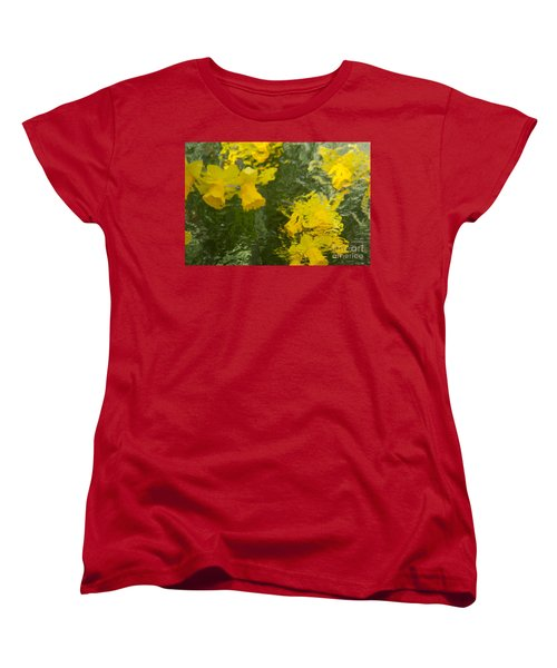 Daffodil Impressions Women's T-Shirt (Standard Cut) by Jeanette French