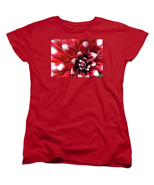 Dahlia Defined Women's T-Shirt (Standard Cut) by Randy Rosenberger