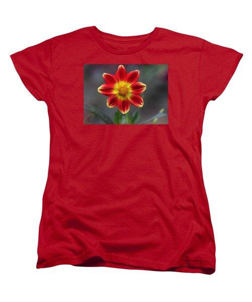 Dahlia Women's T-Shirt (Standard Cut) by Diane Giurco
