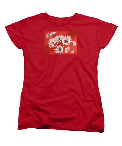 Daisy Chain Women's T-Shirt (Standard Cut) by Ruth Kamenev