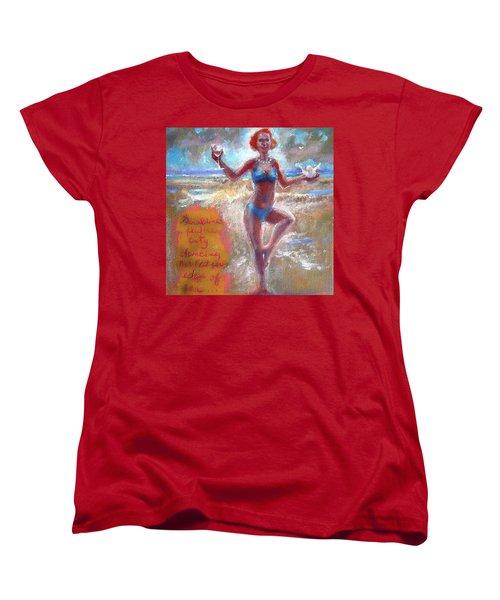 Dancing At The Edge Women's T-Shirt (Standard Cut)