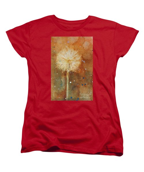 Dandelion Clock 1 Women's T-Shirt (Standard Cut)