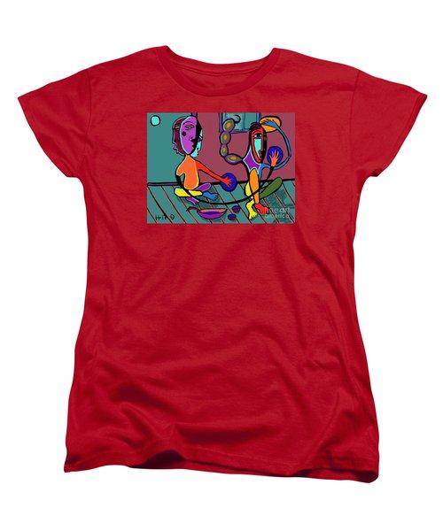 Dangerous Friends Women's T-Shirt (Standard Cut) by Hans Magden