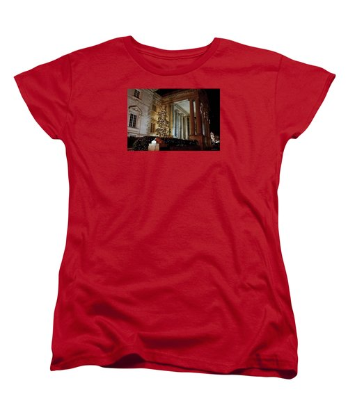 Dar Memorial Continental Hall Women's T-Shirt (Standard Cut) by Suzanne Stout