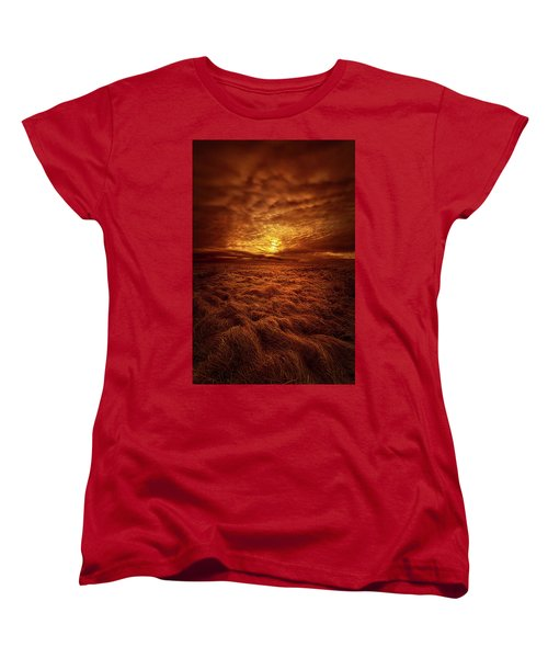 Women's T-Shirt (Standard Cut) featuring the photograph Dare I Hope by Phil Koch