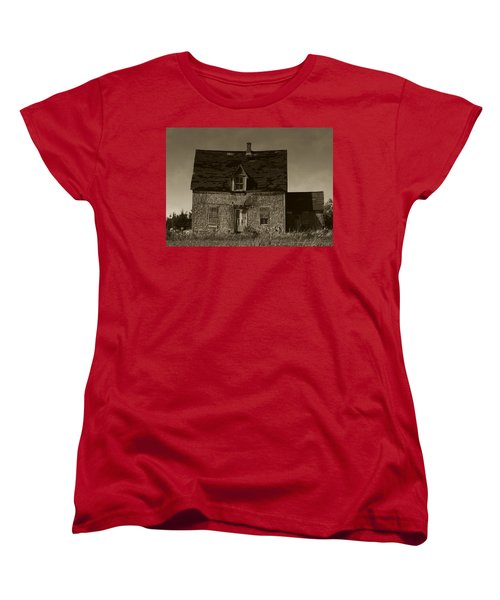 Dark Day On Lonely Street Women's T-Shirt (Standard Cut) by RC DeWinter