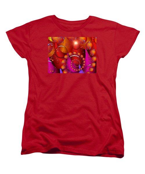 Women's T-Shirt (Standard Cut) featuring the digital art Dawn by Robert Orinski