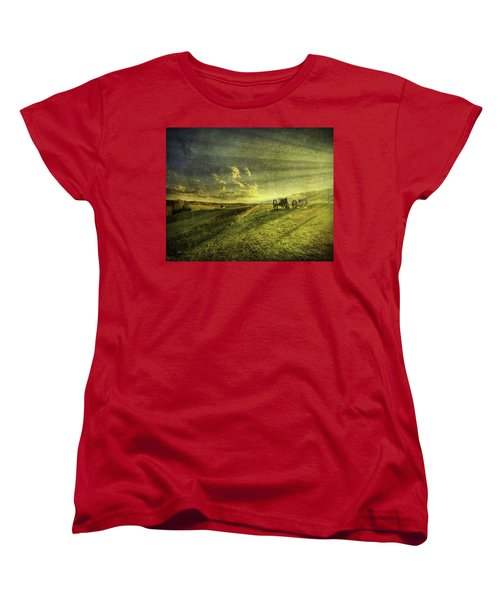 Days Done Women's T-Shirt (Standard Cut) by Mark T Allen