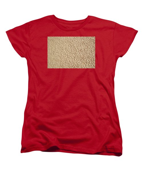 Women's T-Shirt (Standard Cut) featuring the photograph Death Valley Mud by Breck Bartholomew