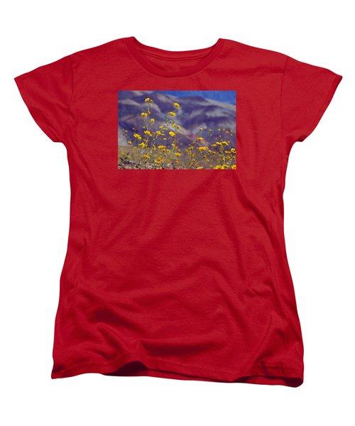 Death Valley Superbloom 103 Women's T-Shirt (Standard Cut) by Daniel Woodrum