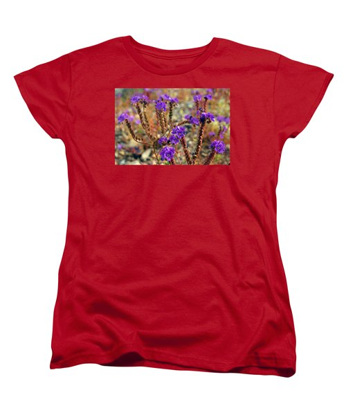 Death Valley Superbloom 106 Women's T-Shirt (Standard Cut) by Daniel Woodrum