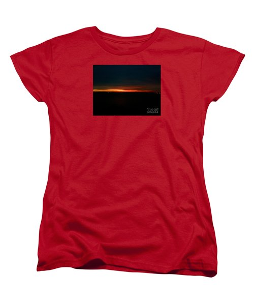 December Dawn,  Rays Of Hope  Women's T-Shirt (Standard Cut) by Patricia E Sundik