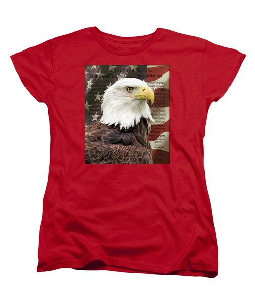 Declaration Of Independence Women's T-Shirt (Standard Cut)