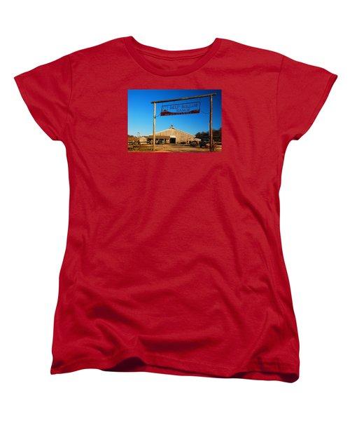 Deep Hollow Ranch  Women's T-Shirt (Standard Cut) by James Kirkikis