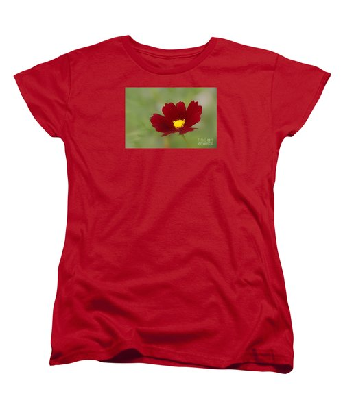 Deep In Red Women's T-Shirt (Standard Cut) by Yumi Johnson