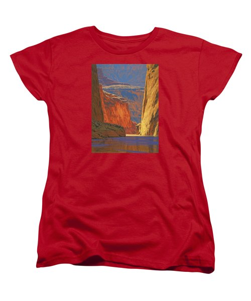 Deep In The Canyon Women's T-Shirt (Standard Cut)