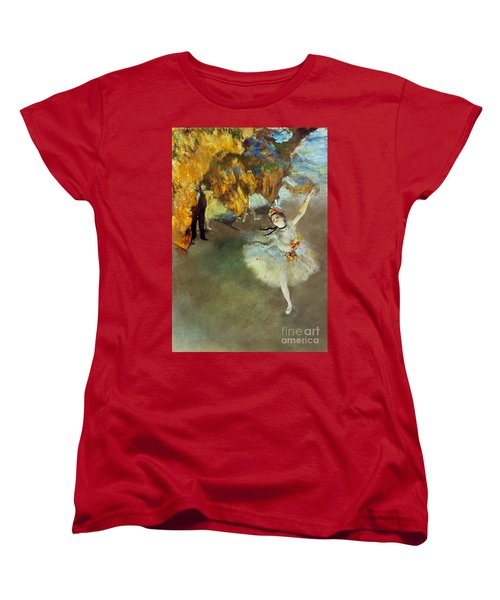 Degas: Star, 1876-77 Women's T-Shirt (Standard Cut) by Granger