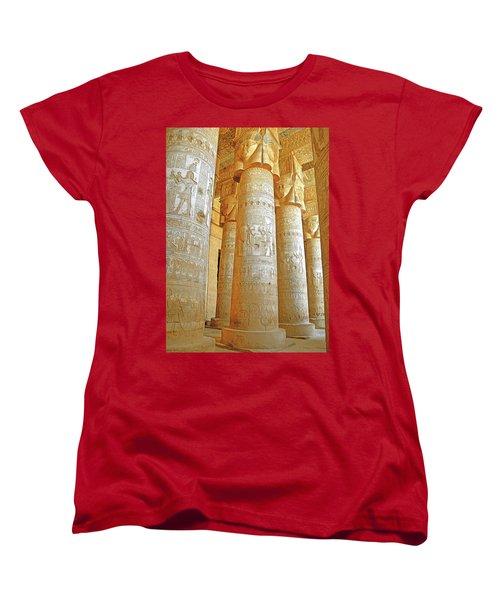 Dendera Temple Women's T-Shirt (Standard Cut)