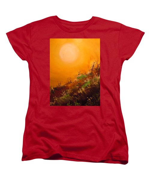 Hot Desert  Evening  Women's T-Shirt (Standard Cut) by Dan Whittemore