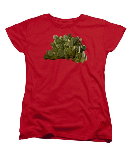 Desert Prickly-pear No6 Women's T-Shirt (Standard Cut) by Mark Myhaver