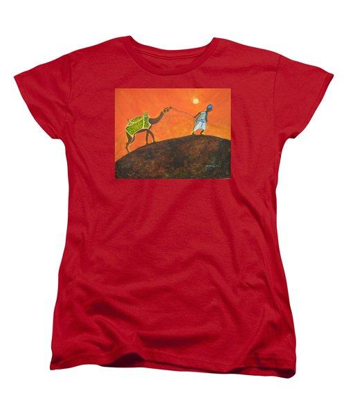 Desert Walk Women's T-Shirt (Standard Cut)